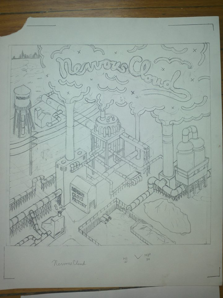 Nimbus Cover Drawing